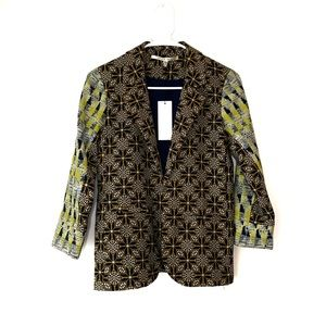 🌵Collective Concepts Open Print Pattern Blazer